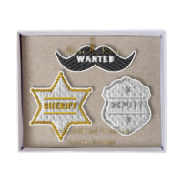 Meri Meri Sheriff Brooches