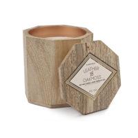 Paddywax Leather & Oakmoss 12 oz. Woods Candle
