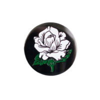 Stay Home Club Rose Token Lapel Pin