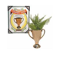 Golden Trophy Vase