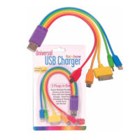 5 in 1 Rainbow USB Charger Cables