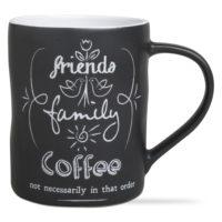 Friends Family Chalkboard Mug