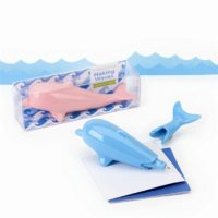 Waves Dolphin Pen In Gift Box - Assorted 2 Colors