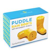 Rain Boot Salt / Pepper Shaker In Gift Box