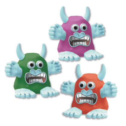 Melting Monster - 3 Assorted Colours