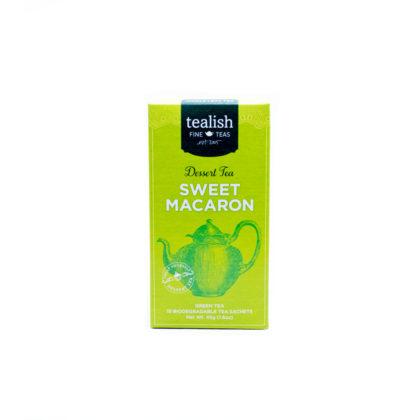 Tealish Sweet Macaron Green Dessert Tea Pyramid Teabags