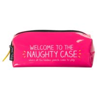Wild & Wolf 'Naughty' Pencil Case
