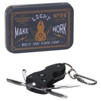 Wild & Wolf Mini Multi Tool with Torch