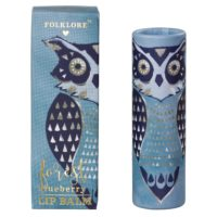 Wild & Wolf Owl Lip Balm - Forest Blueberry