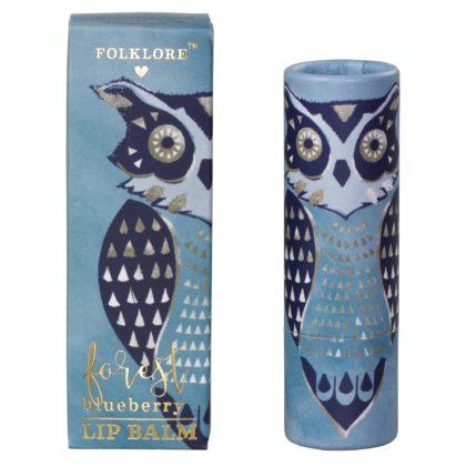 Wild & Wolf Owl Lip Balm - Forest Blueberry