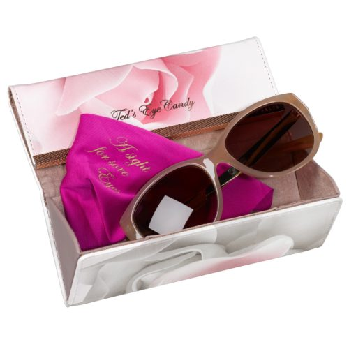 Wild & Wolf Porcelain Rose Sunglasses Case