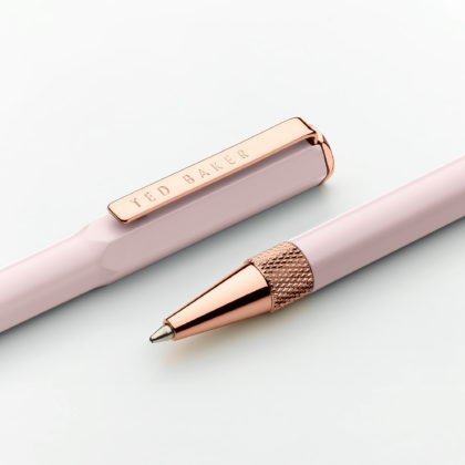 Wild & Wolf Pink Quartz Premium Ballpoint Pen