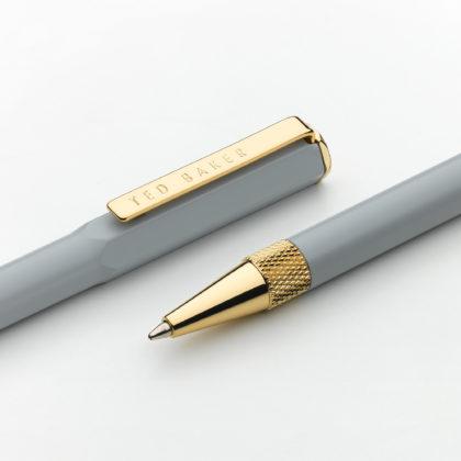 Wild & Wolf Grey Spinel Premium Ballpoint Pen