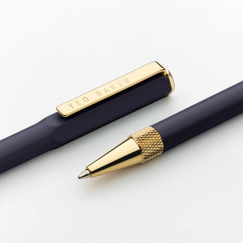 Wild & Wolf Dark Sapphire Premium Ballpoint Pen