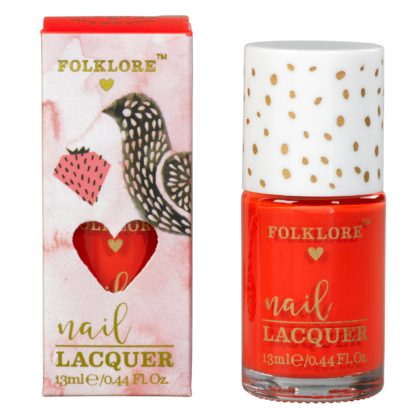 Wild & Wolf Red Bird Strawberry Nail Lacquer
