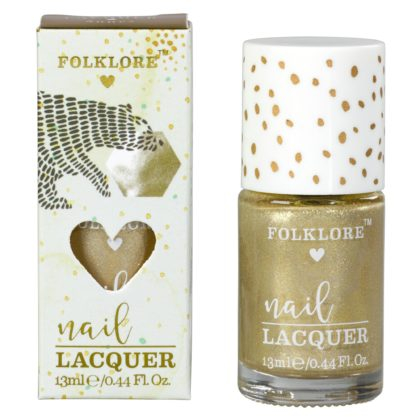 Wild & Wolf Gold Bear Honey Nail Lacquer