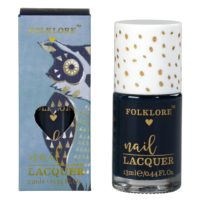 Wild & Wolf Navy Owl Blueberry Nail Lacquer